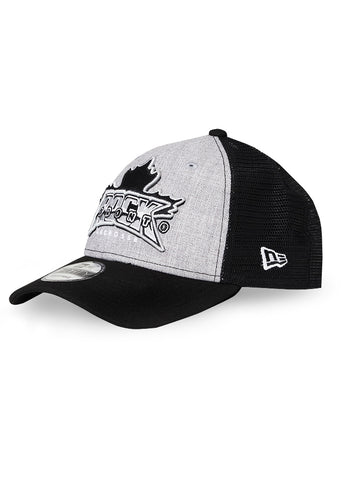 New Era 9Forty Adjustable Cap - Black/Grey Trucker