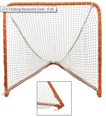 STX FOLDING BACKYARD GOAL-4X4