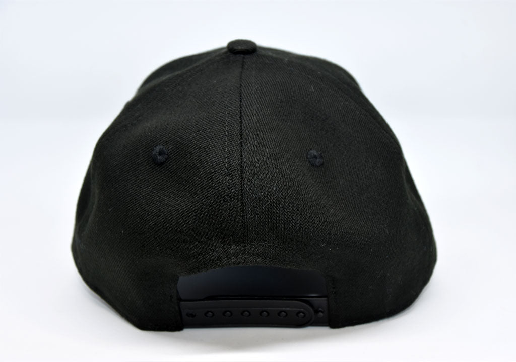 New Era 9Forty Adjustable Cap - Black on Black