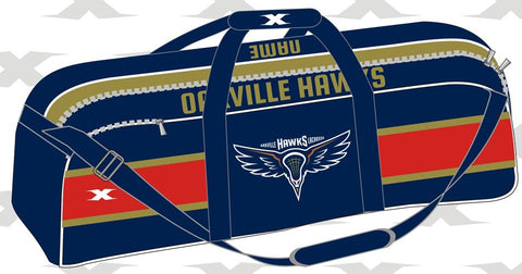 HAWKS - CUSTOM SUBLIMATED EQUIPMENT BAG