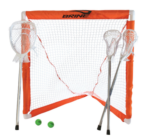 BRINE MINI LACROSSE GOAL SET