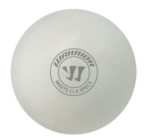 WARRIOR (CLA APPROVED) LACROSSE BALL- WHITE