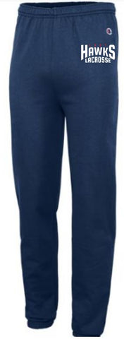 LADY HAWKS - CHAMPION POWERBLEND ECO FLEECE PANTS (YOUTH)