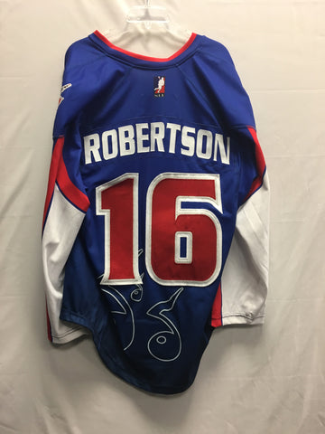 2016 Throwback Thursday Game Worn Jersey - Jordan Robertson