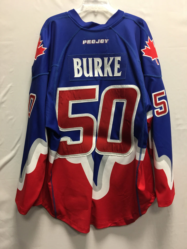 2014 Blue Game Worn Jersey - Mike Burke
