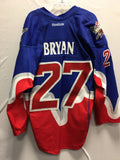 2013 Blue Game Worn Jersey - Glenn Bryan