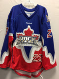 2013 Blue Game Worn Jersey - Pete Rennie