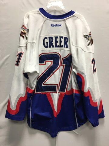 2013 Blue Game Worn Jersey - Nick Rose