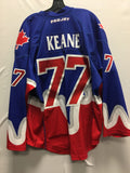 2015 Blue Exhibition Worn Jersey - Dan Keane