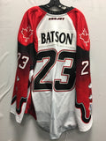 2016 Canadian Themed Game Worn Jersey - Jamie Batson