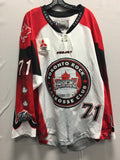 2016 Canadian Themed Game Worn Jersey - Kevin Ross