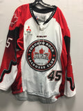 2016 Canadian Themed Game Worn Jersey - Damon Edwards