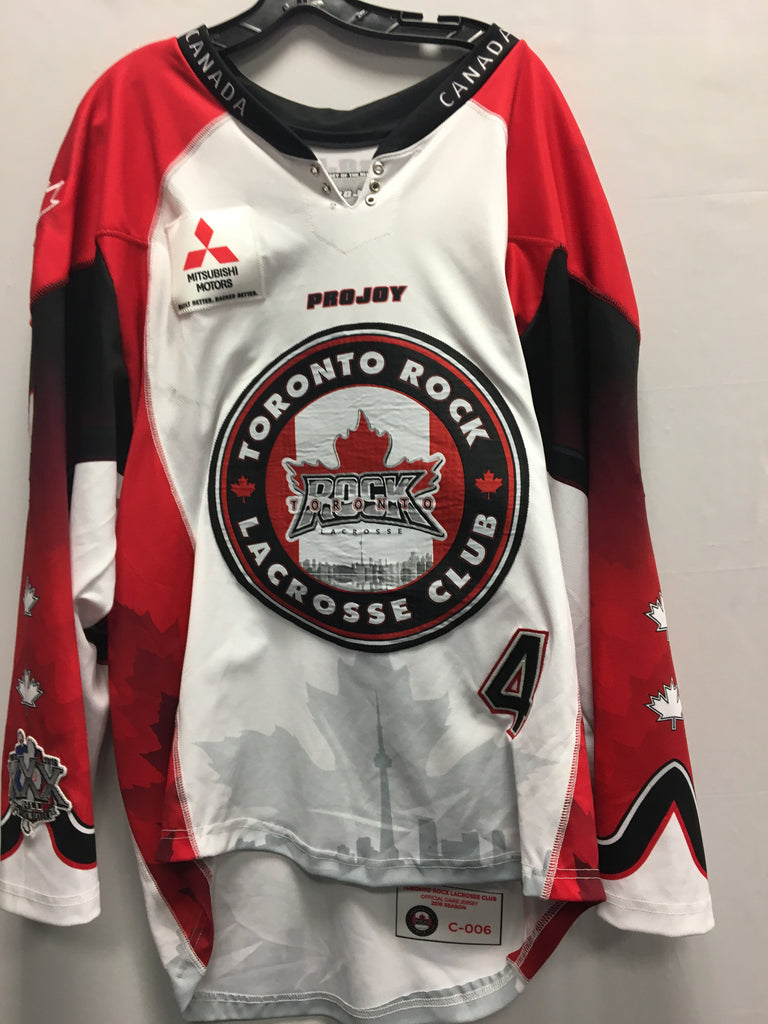 2016 Canadian Themed Game Worn Jersey - Jesse Gamble