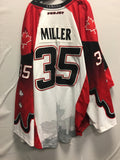 2015 Canadian Themed Game Worn Jersey - Brandon Miller