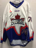 2016 Game Worn White Jersey - Colin Boucher
