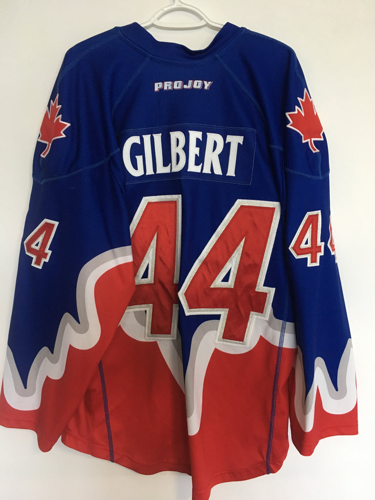 2017 Blue Game Worn Jersey - Jeff Gilbert