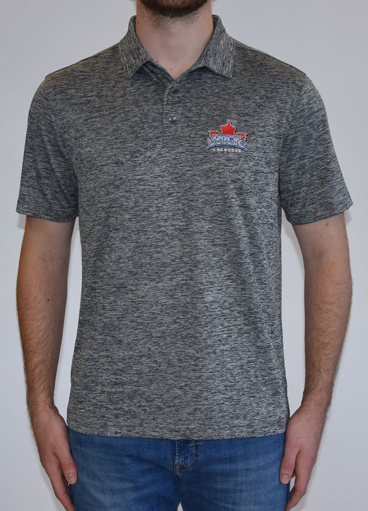 Levelwear Heather Grey Polo