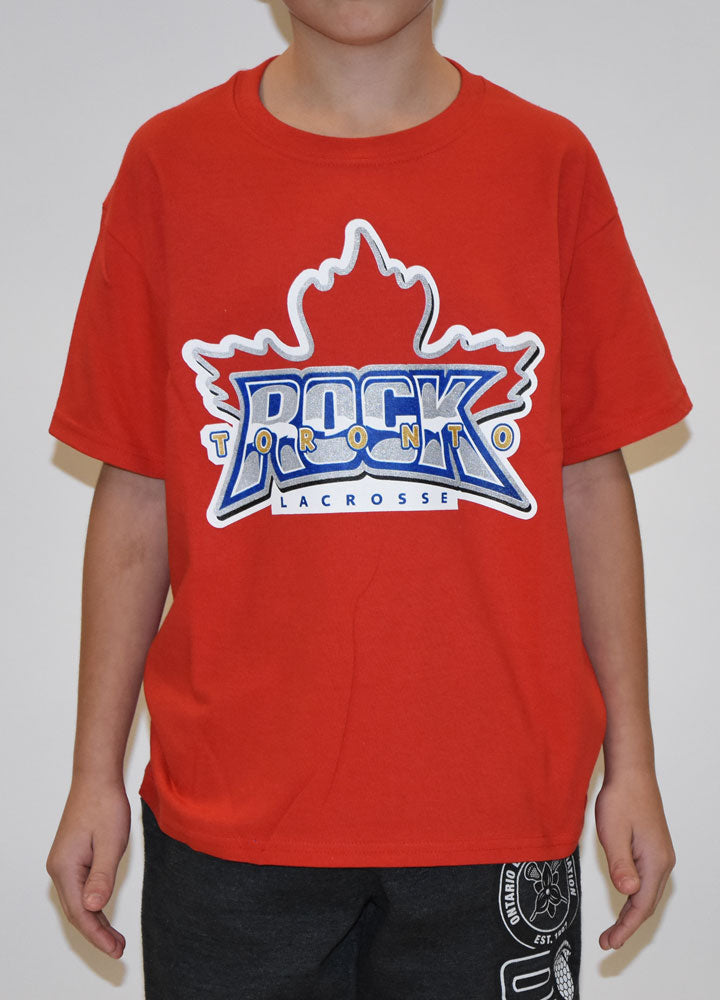 Youth Big Logo Tee - Red