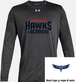 HAWKS - UA LOCKER LONG SLEEVE T (YOUTH)
