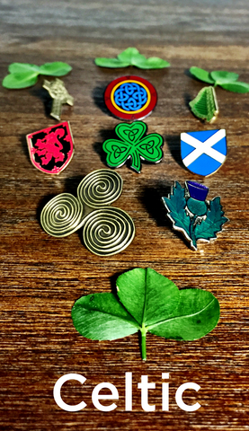 Celtic Pins and Charms