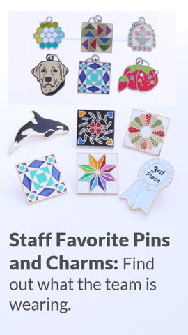 Staff Picks: Lapel Pins and Charms