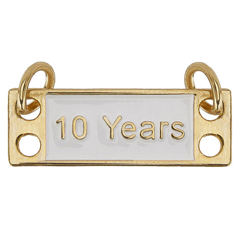 10-Years Dangle Bar