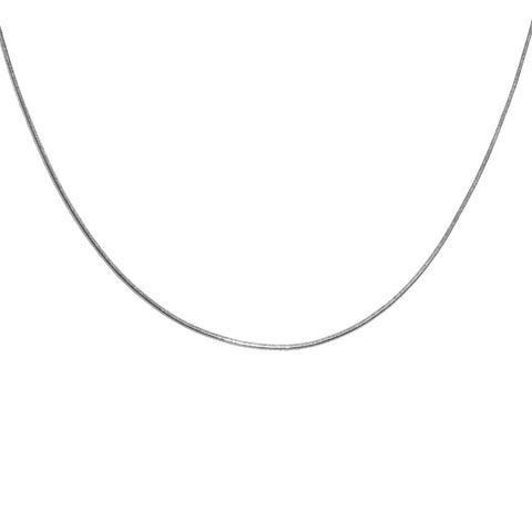 Snake Chain Necklace, 36""