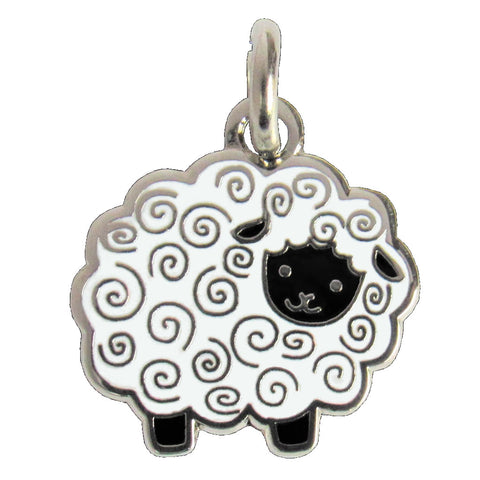 Woolly Sheep Charm