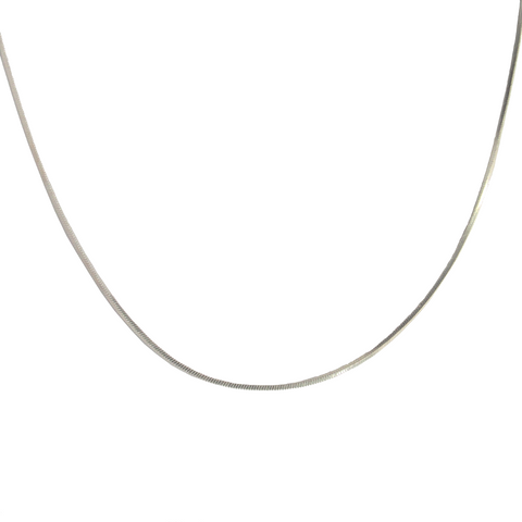 Snake Chain Necklace, 18""