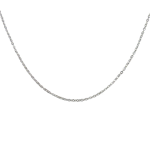 Cable Chain Necklace, 18""