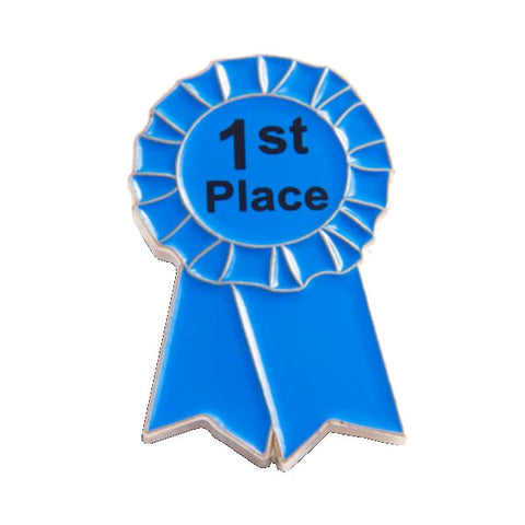 1st Place Award Ribbon Pin
