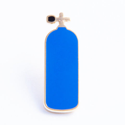 Air Tank Pin, Blue