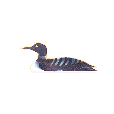 Common Loon Pin