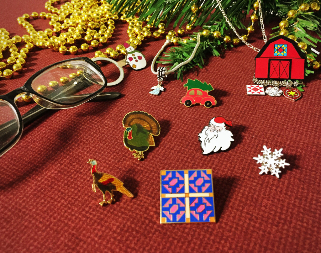 Holiday Pins and Charms Bundle