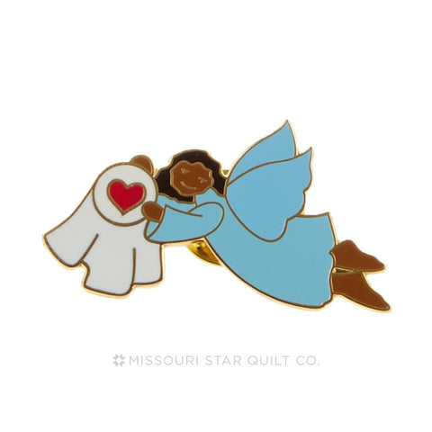 Ethnic Angel in Flight Pin