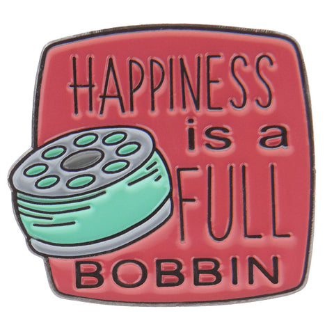 Happiness is a Full Bobbin Pin