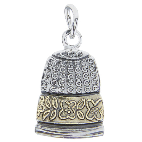 Metallic Thimble Charm