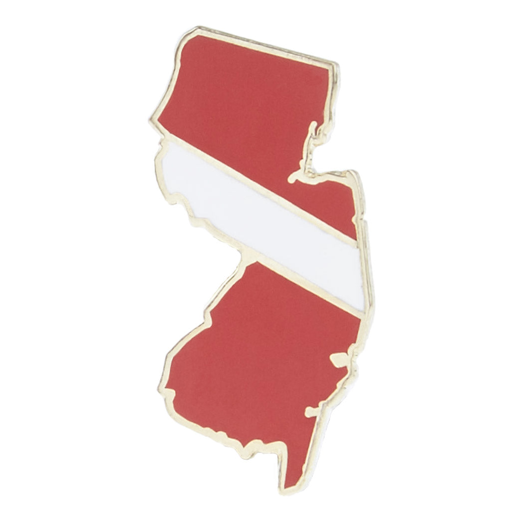 New Jersey Dive Pin