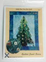 Pattern Little Pines Christmas Tree with template