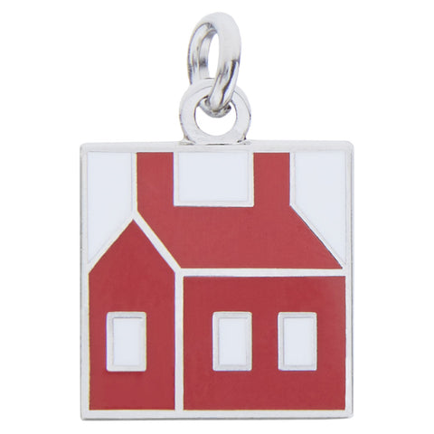 Schoolhouse Charm, Red