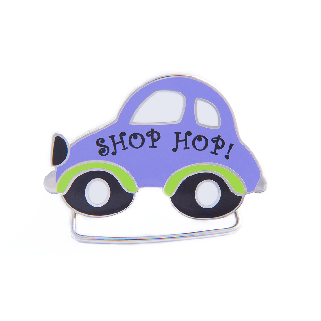 Shop Hop Charm Holder
