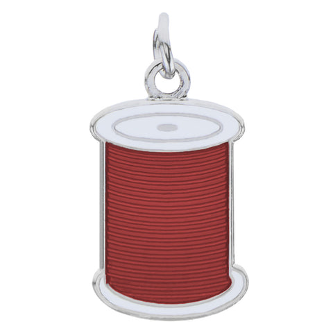 Spool Charm, Red