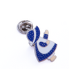 Sunbonnet Sue Pin, Blue