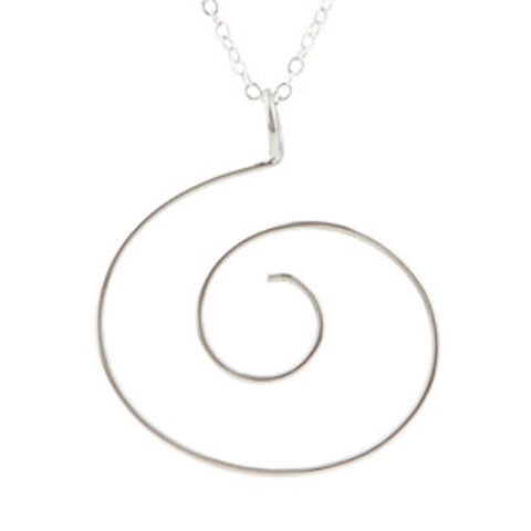 Swirl Pendant Charm Holder