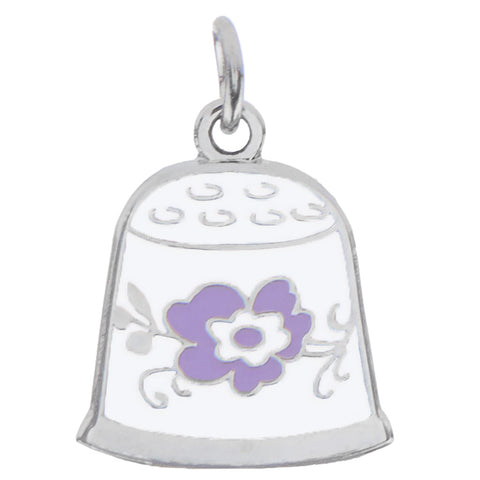 Thimble Charm, Purple