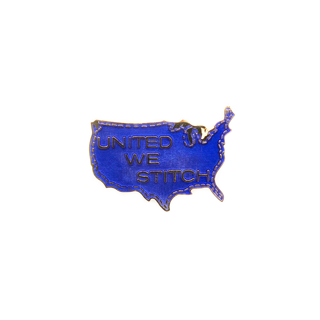 United We Stitch Pin