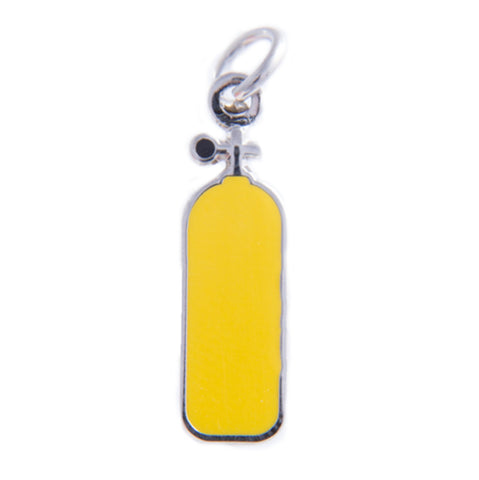 Air Tank Charm, Yellow