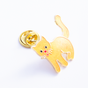 Yellow Cat Pin