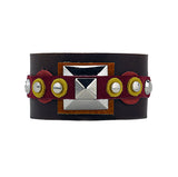 Eastlake Multicolored Leather Cuff