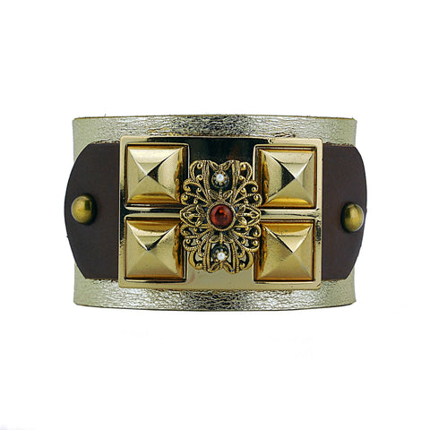 Mikhail Leather Cuff
